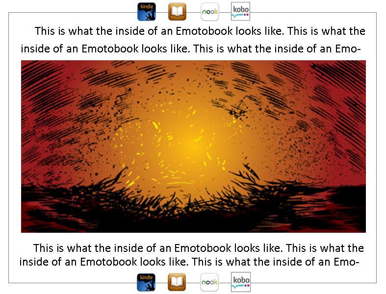 sample EmotoBook page